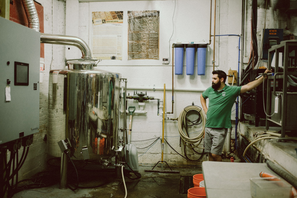 Aaren Simoncini of Beer'd Brewing