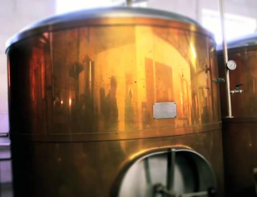 Climax Brewing Company copper tanks