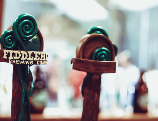 Fiddlehead Brewing tap handles