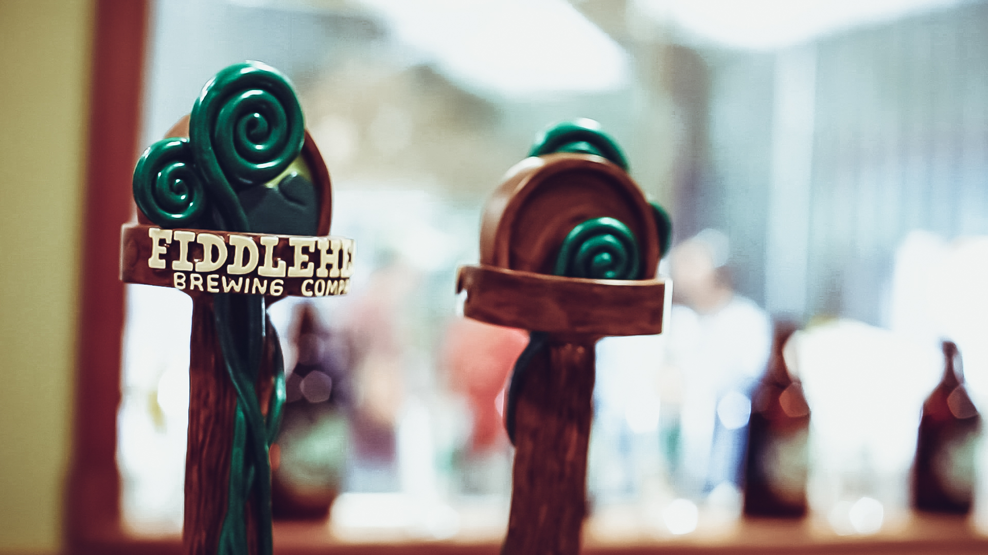 Fiddlehead Brewing tap handles