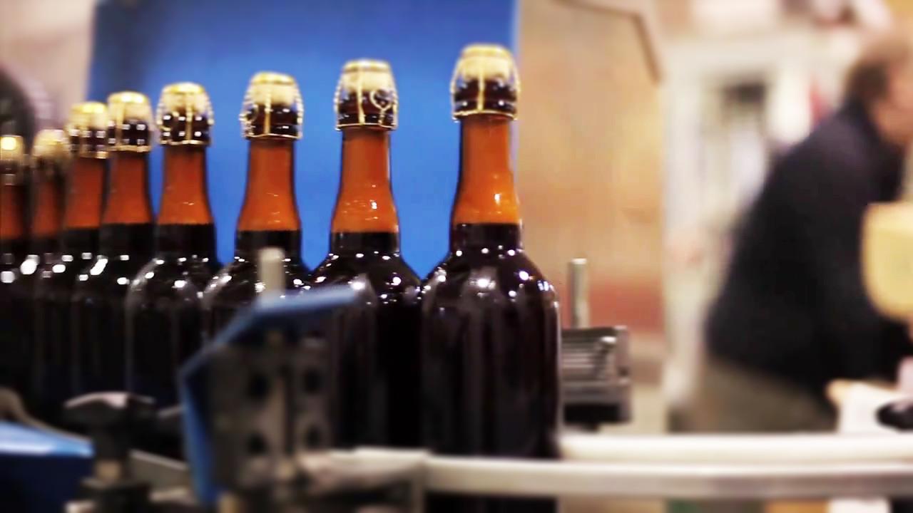 Brewery Ommegang bottling line