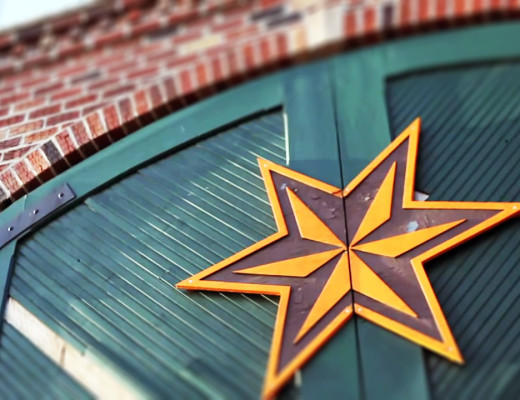 Sixpoint Brewery front door brewers star