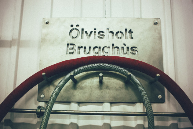 Olvisholt Brugghus sign