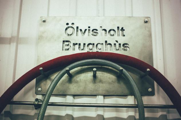 Olvisholt Brugghus sign