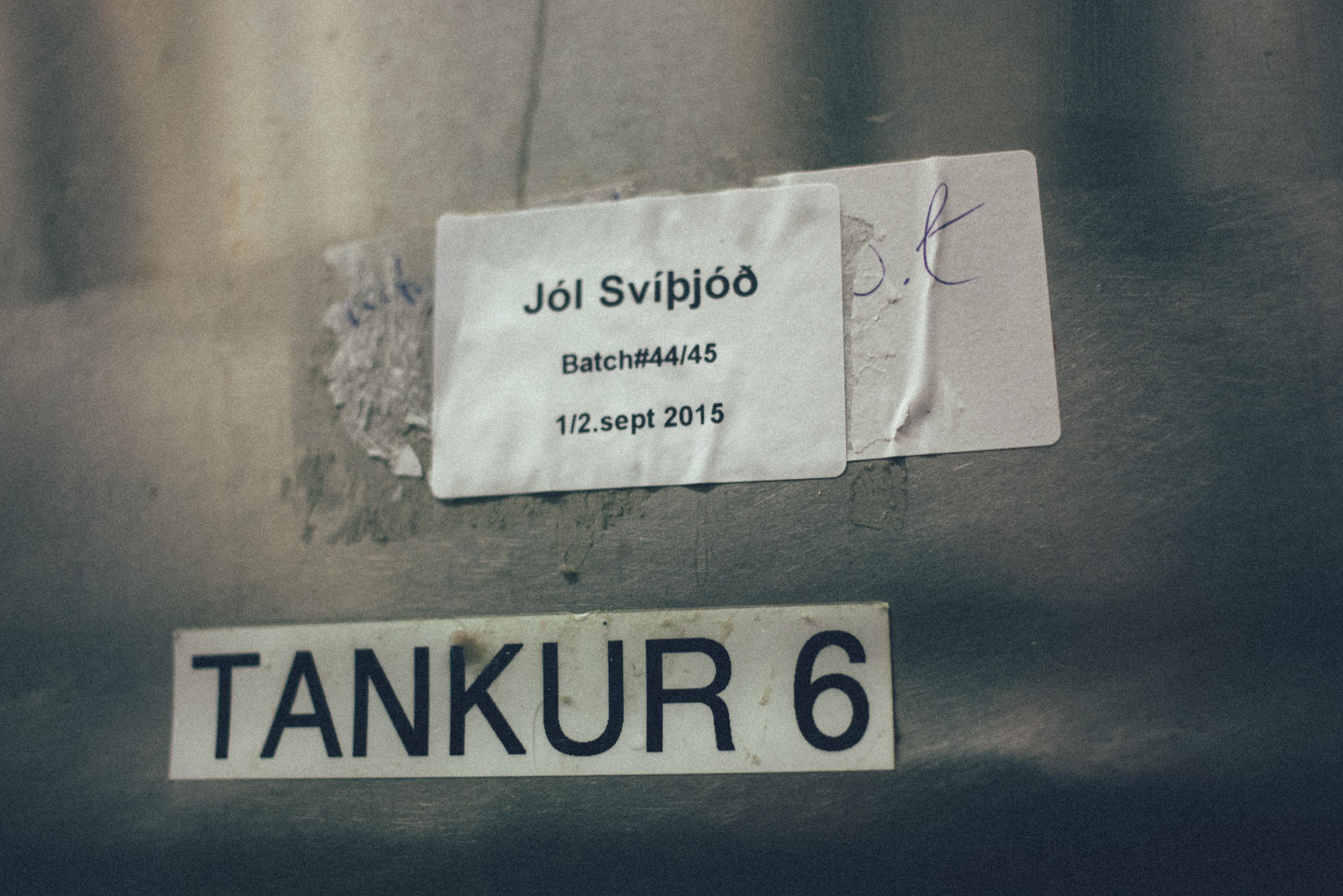 Olvisholt Tank 6 Fermentation tank