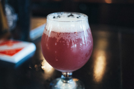 Newburgh Brewing Company Blueberry Brett Mint for Hudson Valley Craft Beer Week