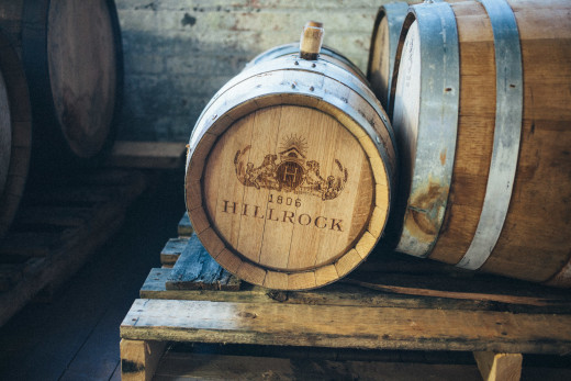 Newburgh Brewing Company Hillrock Estate barrel aging brown ale