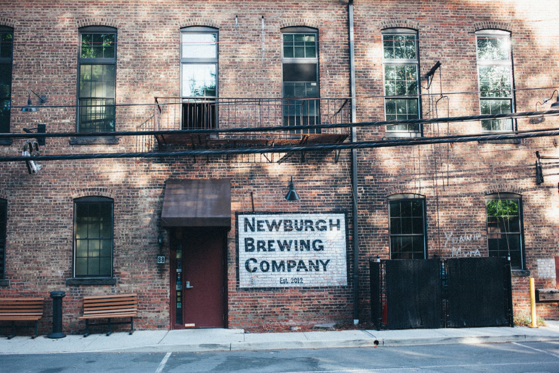 Newburgh Brewing Company Entrance