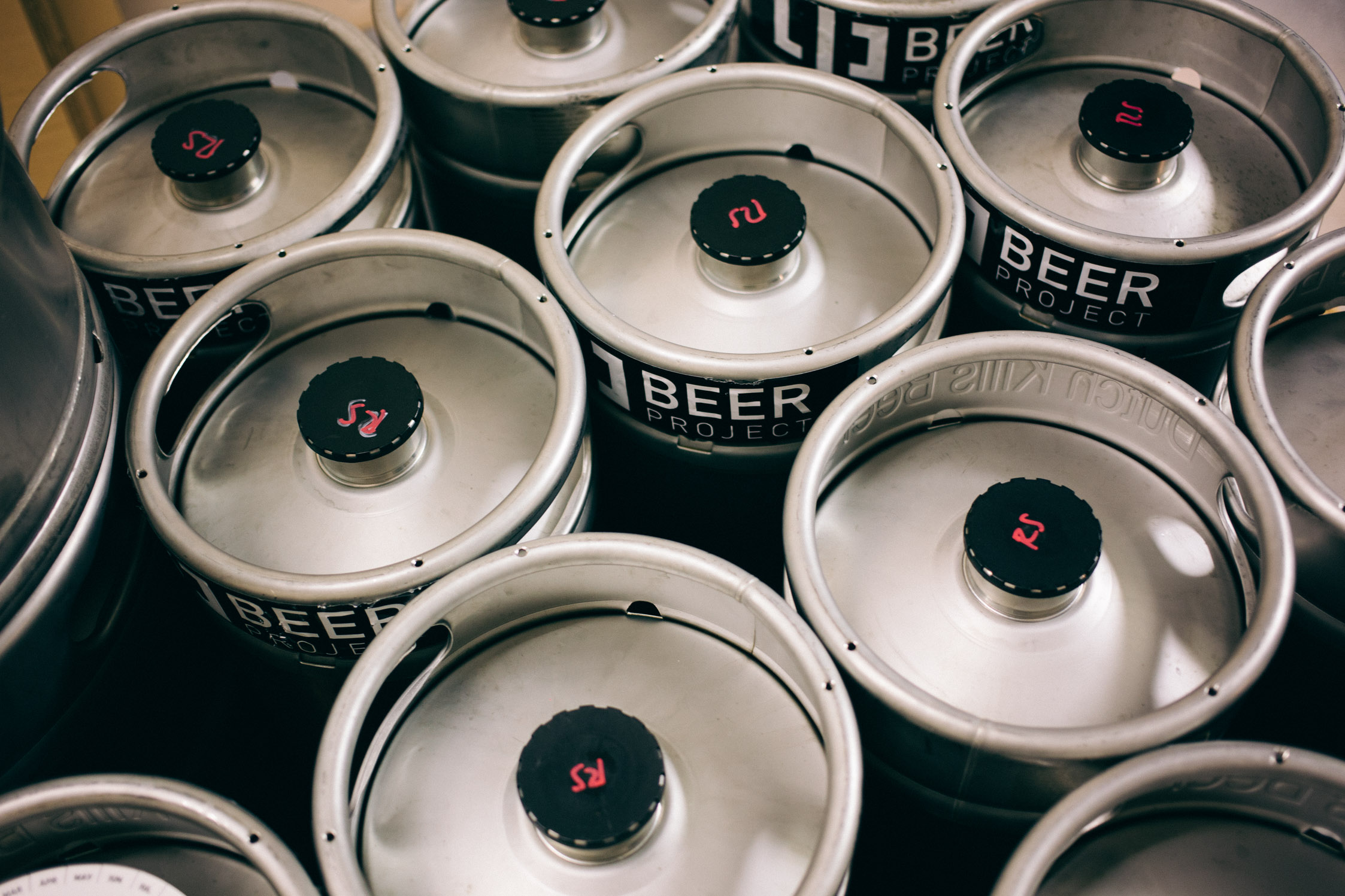 LIC Beer Project kegs