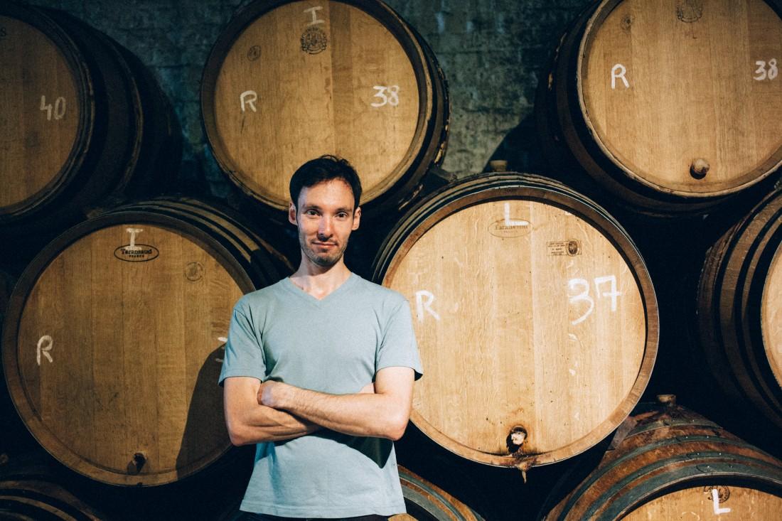 Ian at Cantillon Brewery
