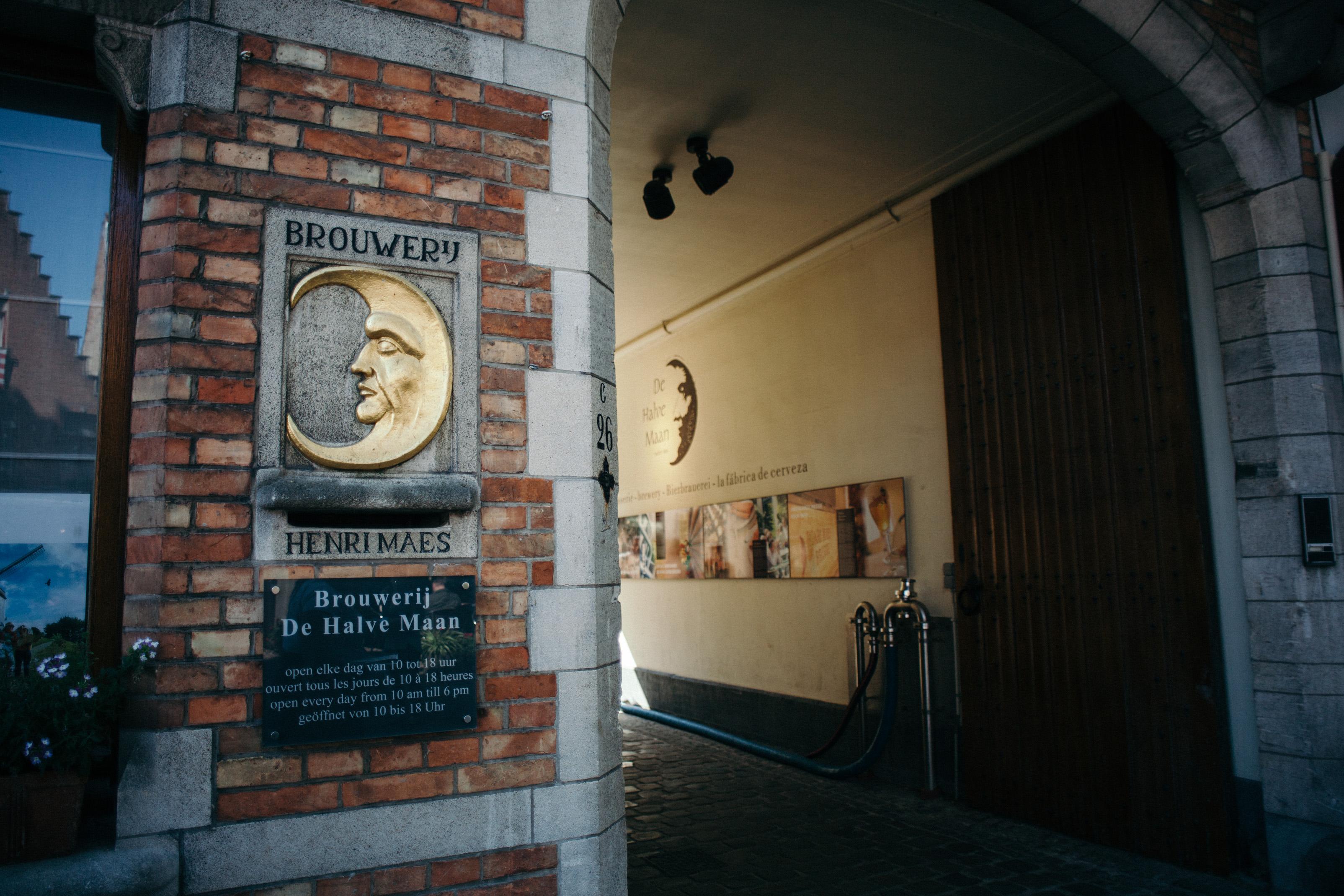 Brouwerij De Halve Maan front entrance