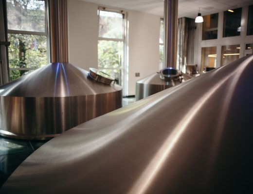 Brewhouse at De Halve Maan Brewery