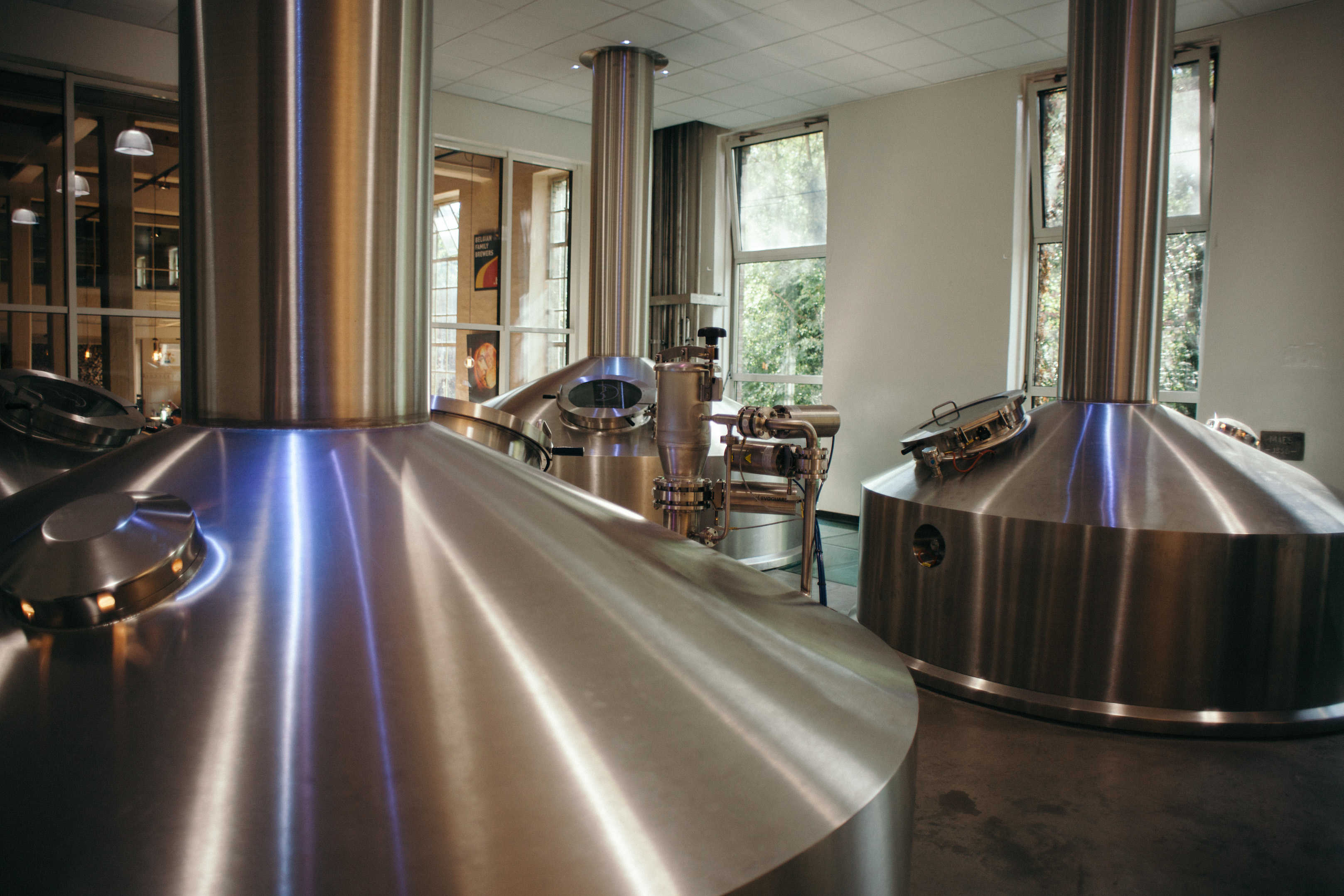 De Halve Maan upgraded brewhouse