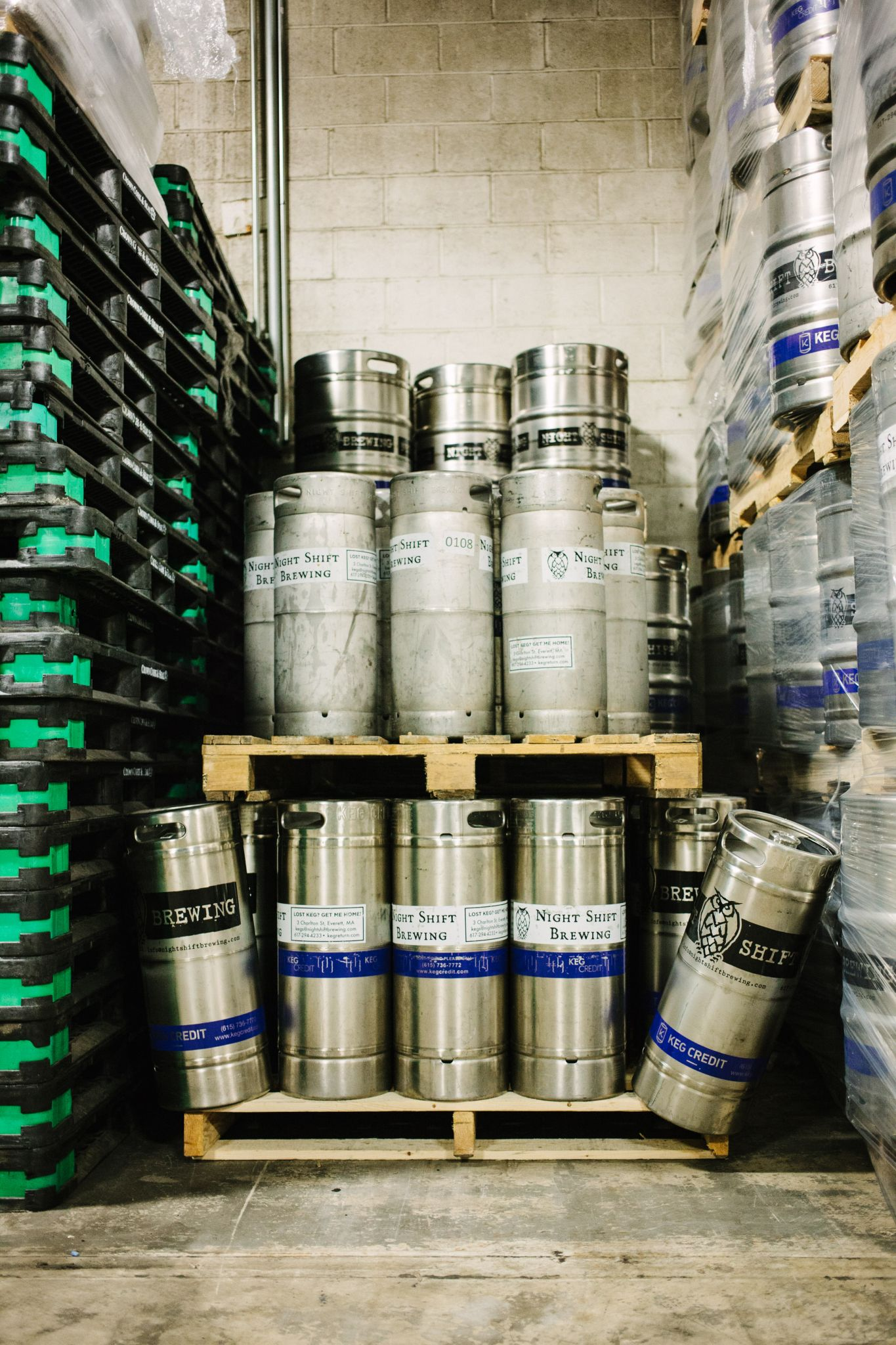 Night Shift Kegs