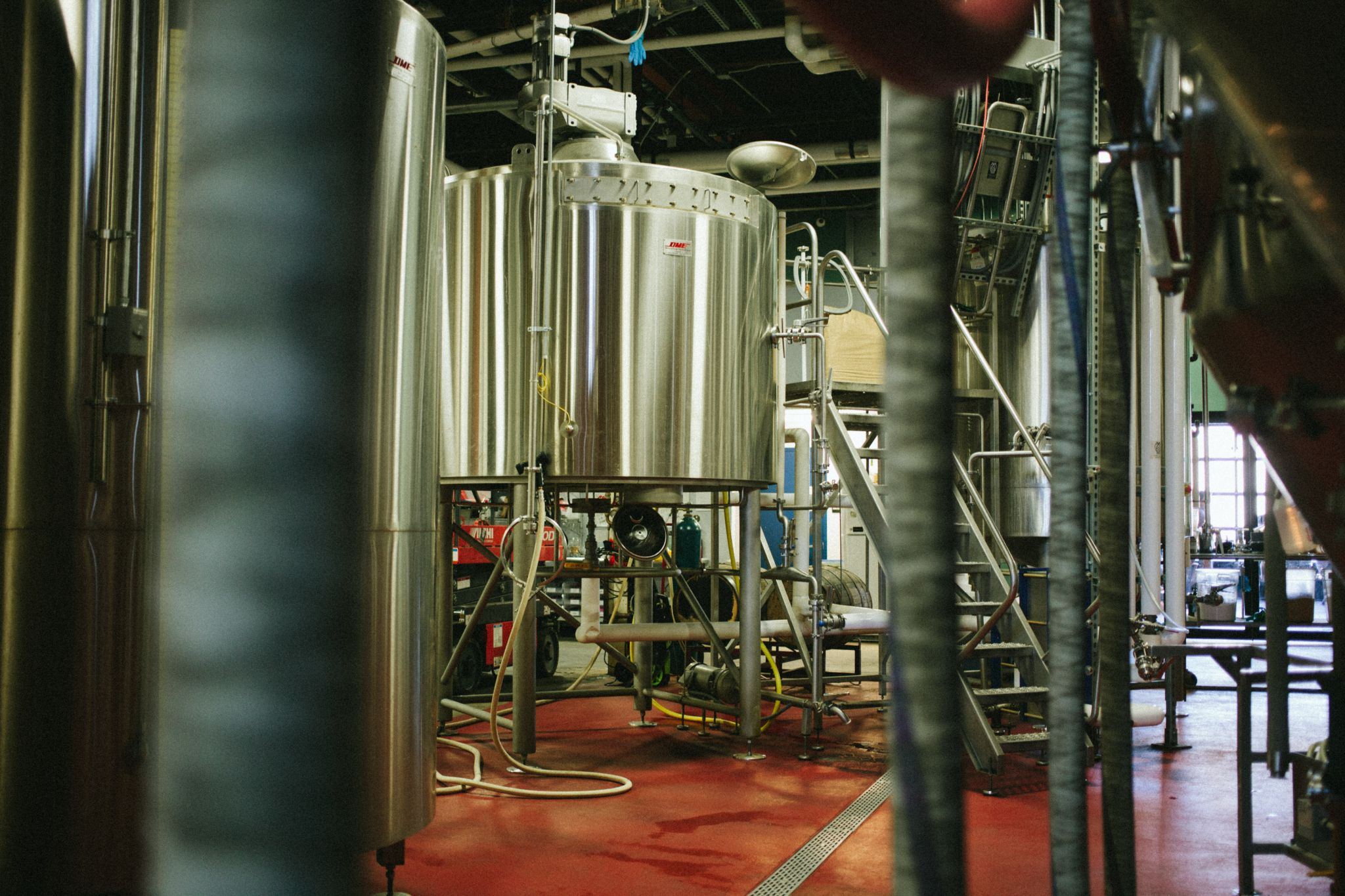 20 Barrel Brewhouse at Night Shift Brewing
