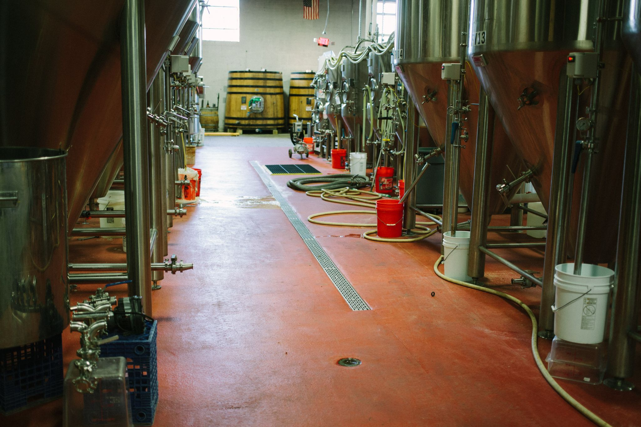 Brewhouse and Foudres
