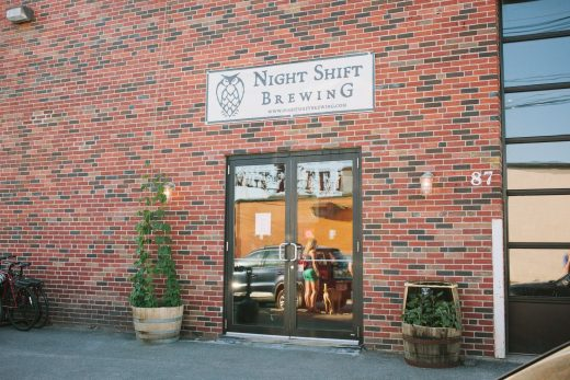 Night Shift Brewing Front Entrance