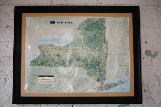 NYS Map of Beer