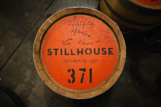 Van Brunt Stillhouse barrels