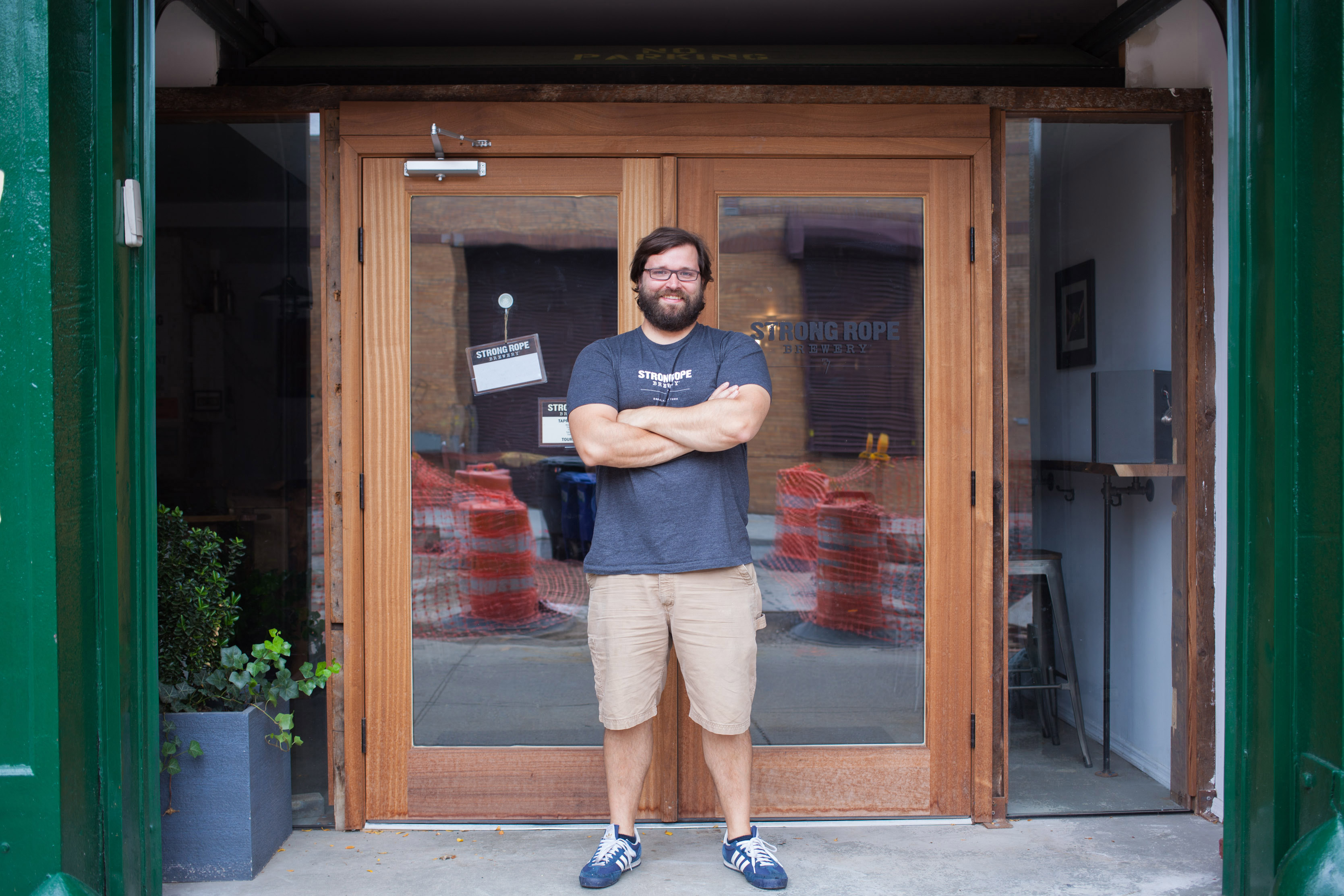 Jason Sahler, Owner and Brewer of Strong Rope Brewery