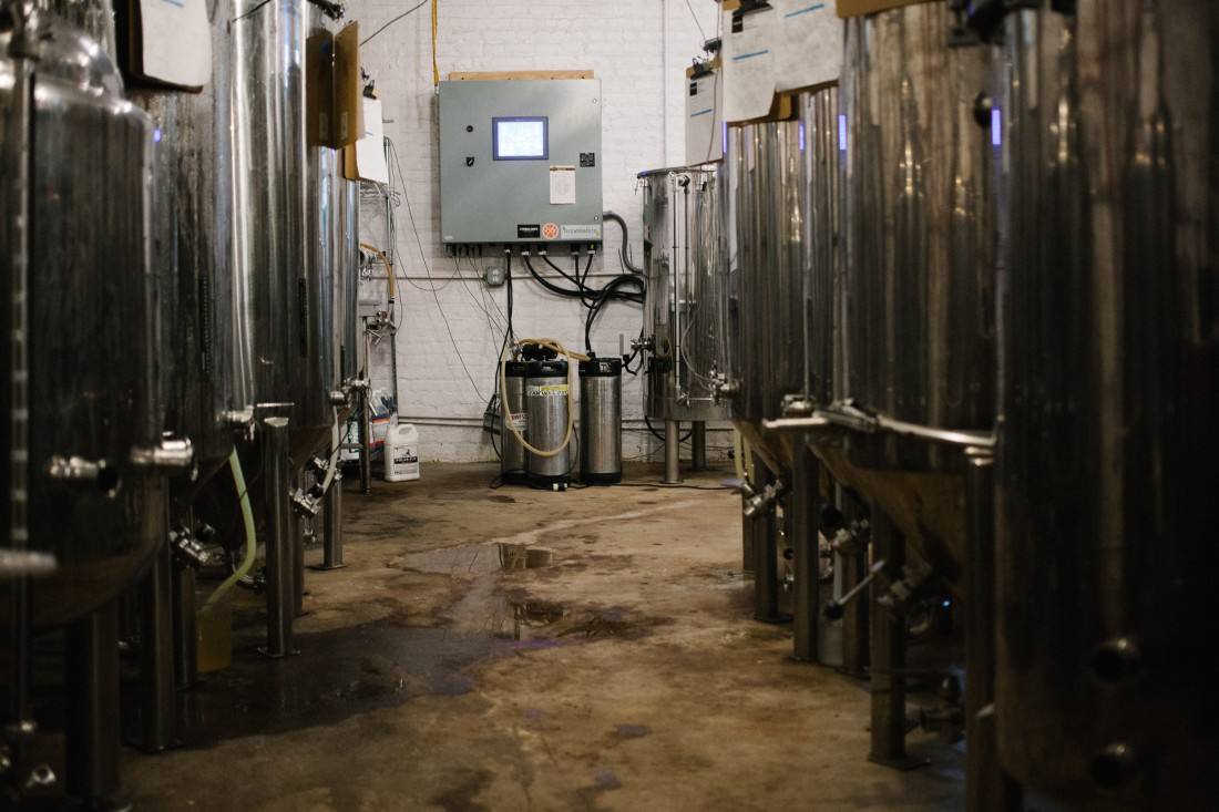 Strong Rope Brewery fermenters